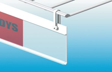 3.Riputatav hinnariba(mm) ,erinevad mõõdud ja värvi valik.