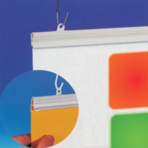 Klõpsprofiil postrite riputamiseks