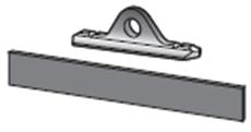 Ühendusdetail alumiinium profiilile (metall)