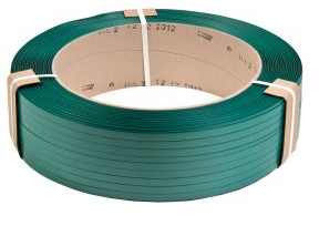 PET19 / 0.8 / 1000 / G PET fixing tape, 19×0.8x1000m, green, tensile strength 660kg -10 rolls.
